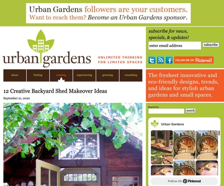 urban gardens best urban gardening blog