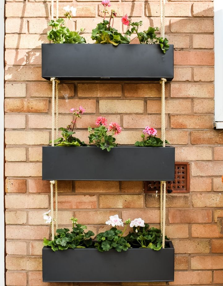wall planter artificial