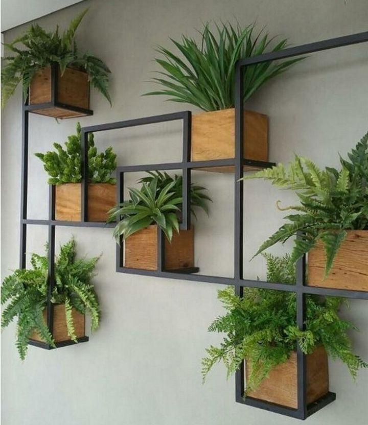 wall planter box indoor