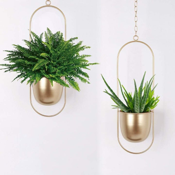 wall planter copper