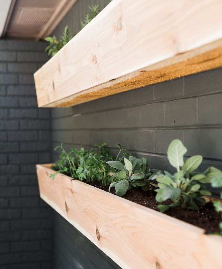 wall planter crate and barrel