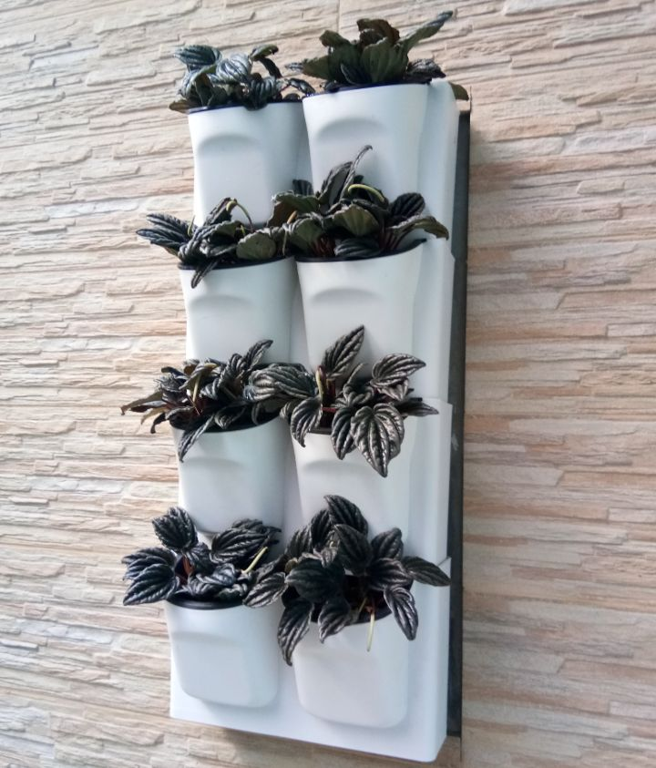 wall planter drainage