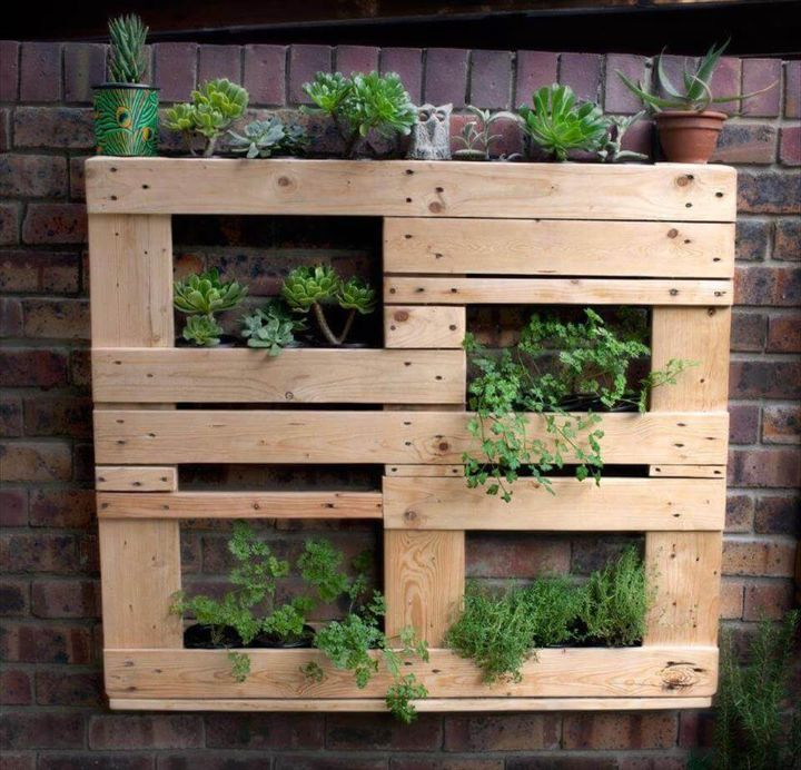 wall planter frame