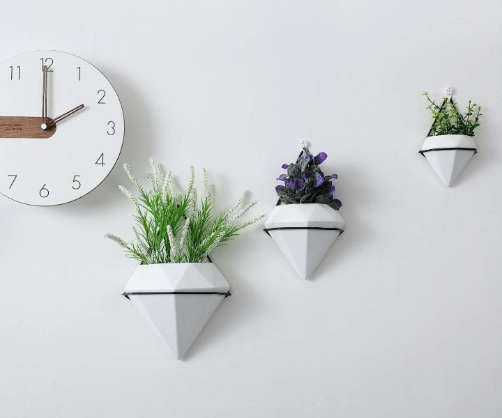 wall planter geometric