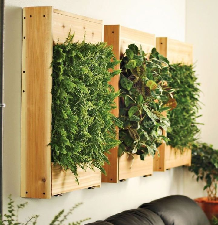 wall planter grass