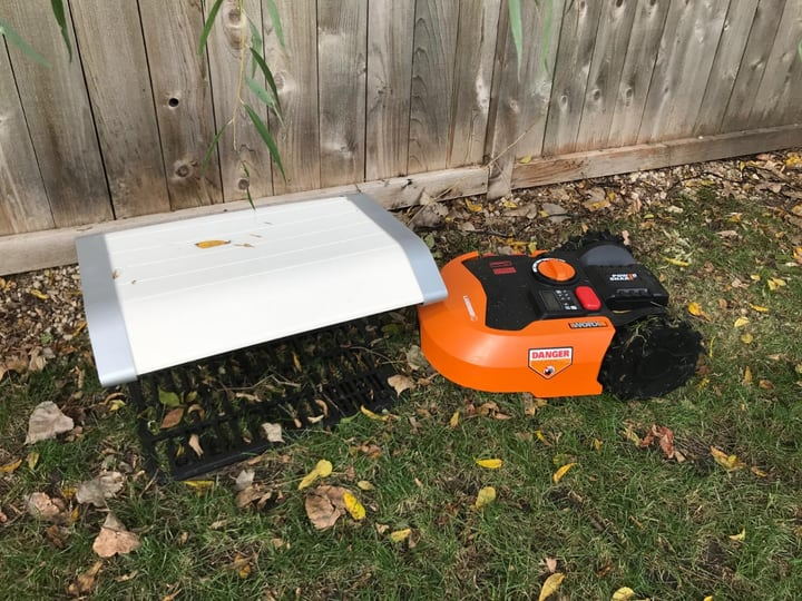 worx robot lawnmower with rain sensor
