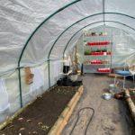 hoop houses for market gardening