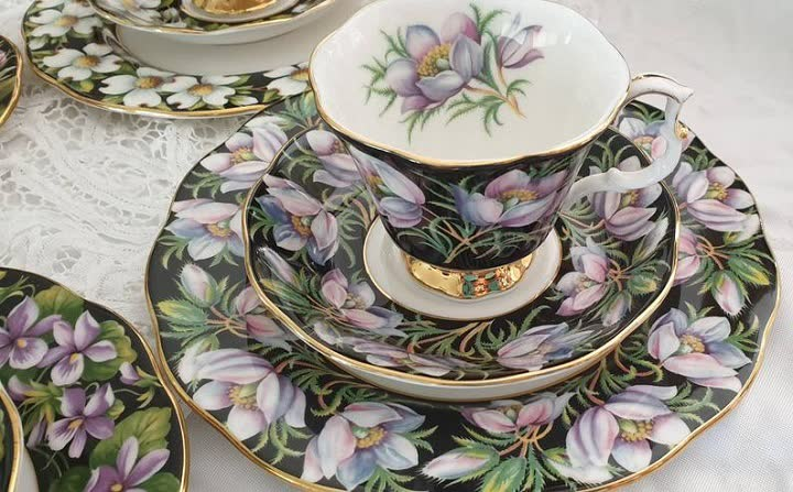 Royal Albert Teacup Set