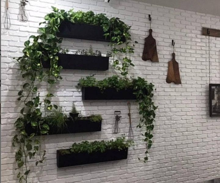 large wall hanging planters