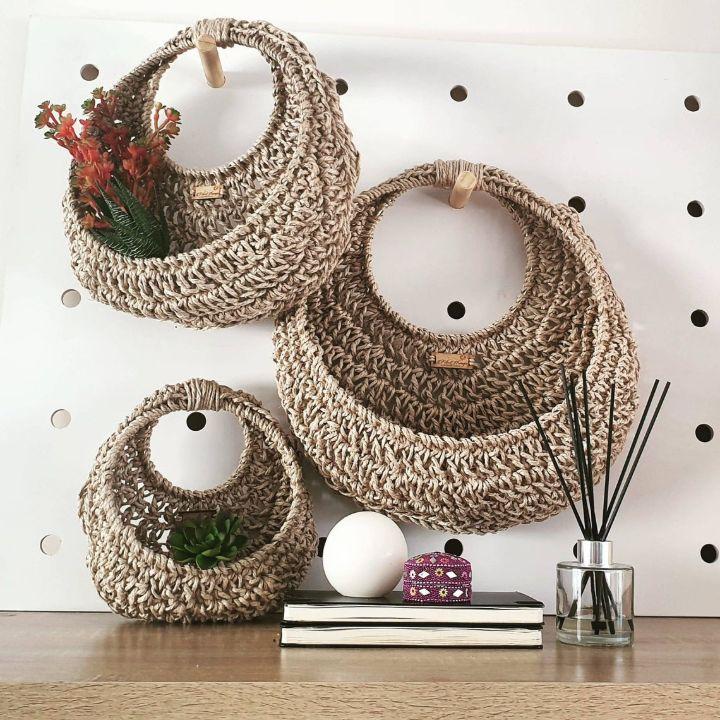 macrame wall hanging planter diy