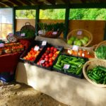 on farm stand