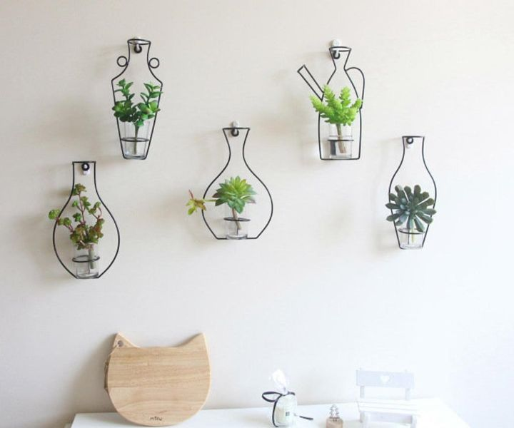 wall hanging herb planters