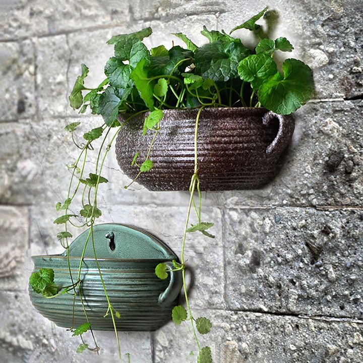 wall hanging planter basket