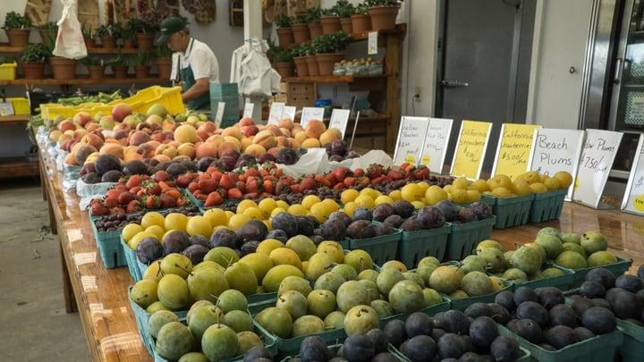 wholesale markets farm stand