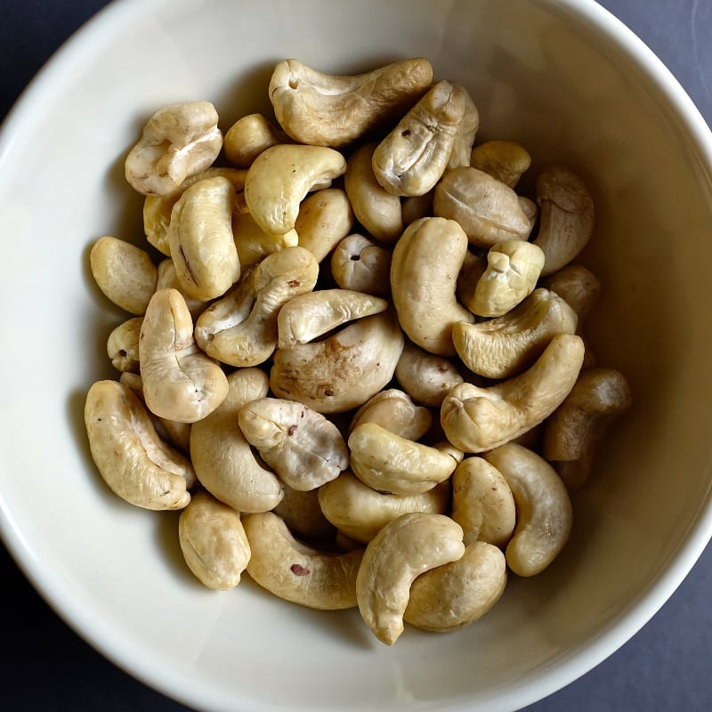 cashew ready for soaking