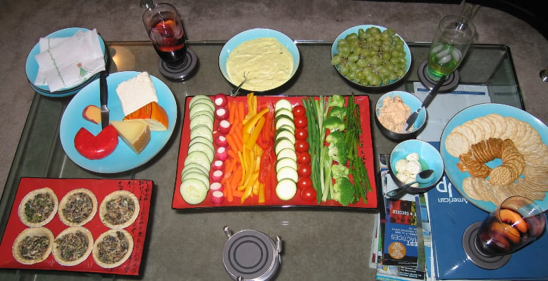 cheeses paired with vegetables