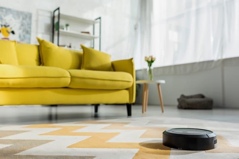robot vacuum cleaner carpet
