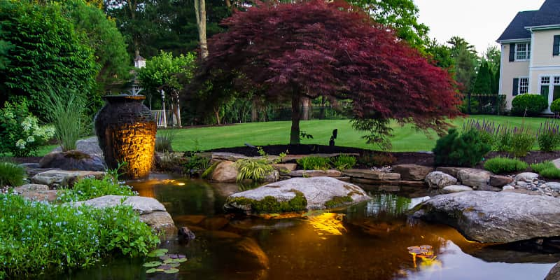 water features for garden unique
